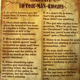 10 Com-man-demnts