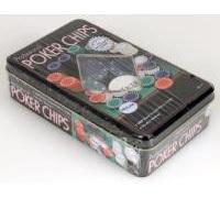 100pc Poker Chip Set