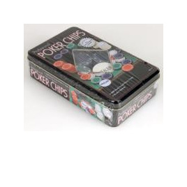 100pc Poker Chip Set