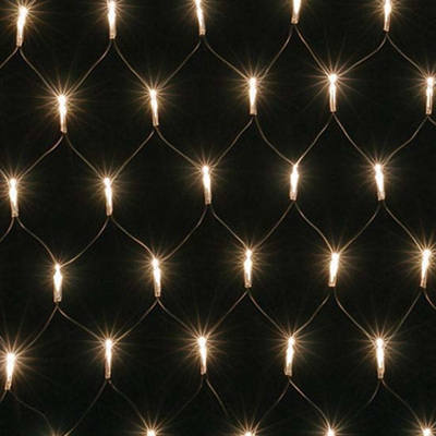 2 x 1.5m Net Lights - Warm White