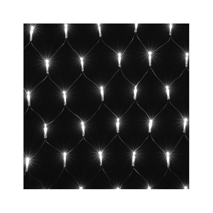 2 x 1.5m Net Lights - White - Party Lights Company