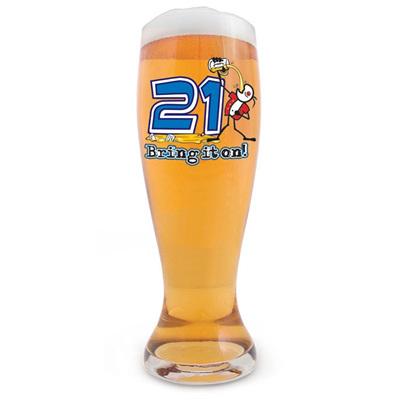 21st Beer Stein 1.5 Litre