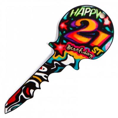 21st Key - Graffiti