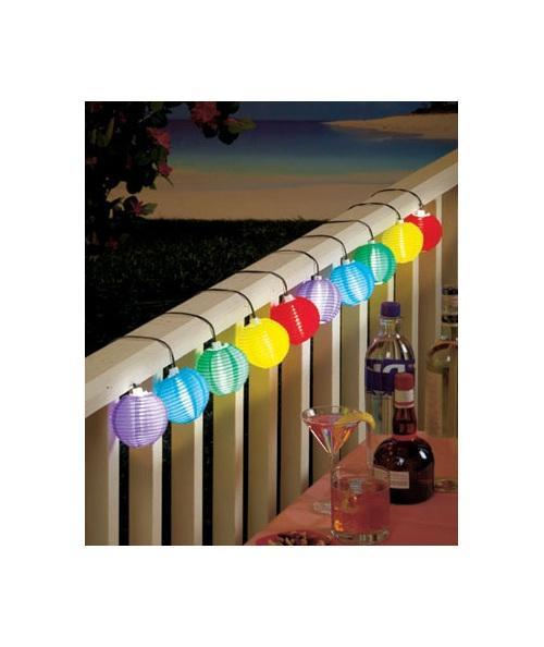 String Lantern Lights Nz : 3m Color Solar Mini Lanterns String Lights - Cool White - Party Lights Company