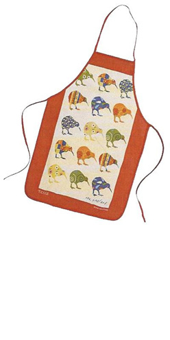 Kiwi Applique Apron