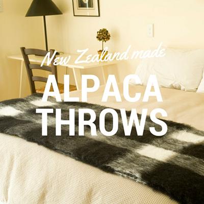 Alpaca Throws