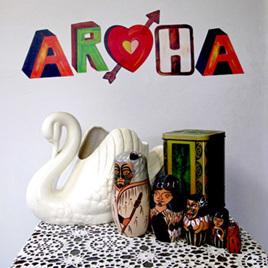 Aroha wall decal  StickyTiny