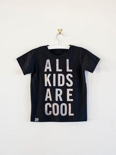 Bandit Kids - All Kids are Cool T-Shirt (Black)