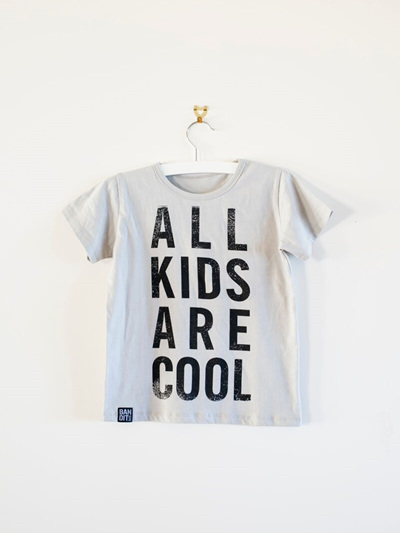 Bandit Kids - All Kids are Cool T-Shirt (Grey)