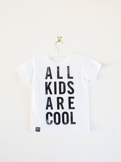 Bandit Kids - All Kids are Cool T-Shirt (White)