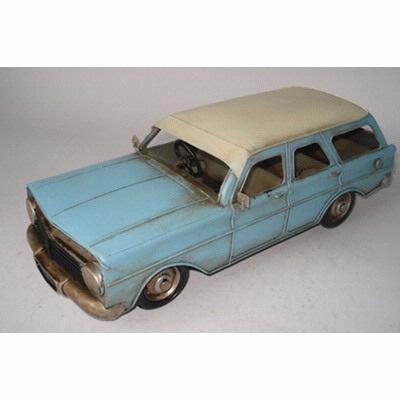 Blue Tin Car