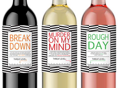 Breakdown Wine Labels