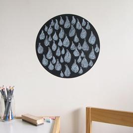 Medium Chalkboard dot wall decal