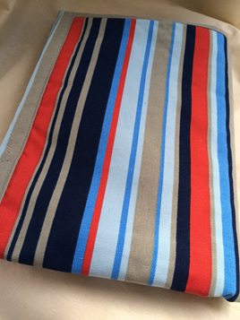 Changing Mat - Nautical Stripe