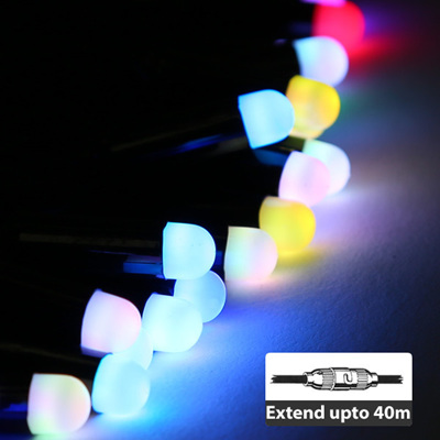 Connectable LED Bullet Fairy String  Lights 5M - Multicolor