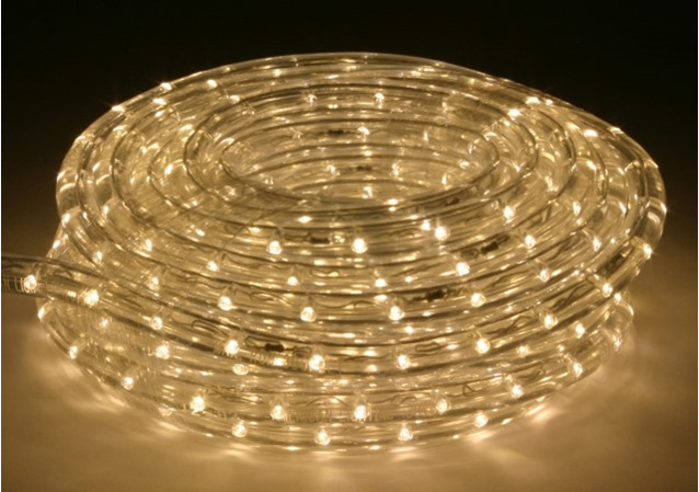 String Led Lights Nz : Connectable LED Rope Light 10m 100L - Warm White - Party Lights Company