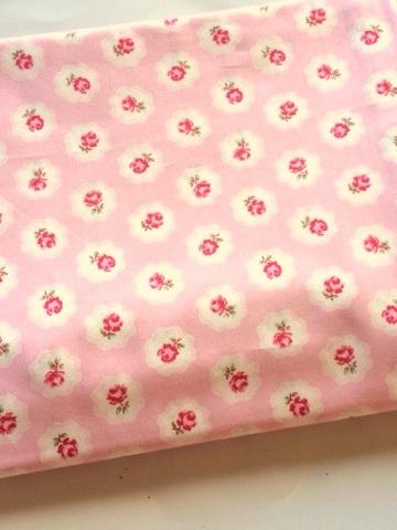 Cot Duvet Cover - Petite Rose Pink