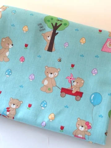 Cot Duvet Cover - Teddy Bear's Picnic