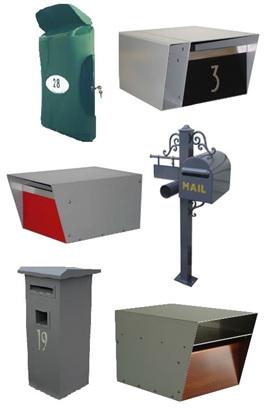 Designer Letterboxes