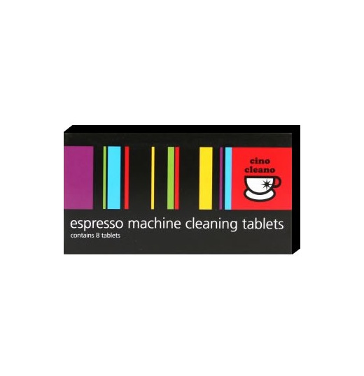 Espresso Machine Cleaning Tablets 8pk Cino Cleano Bec25