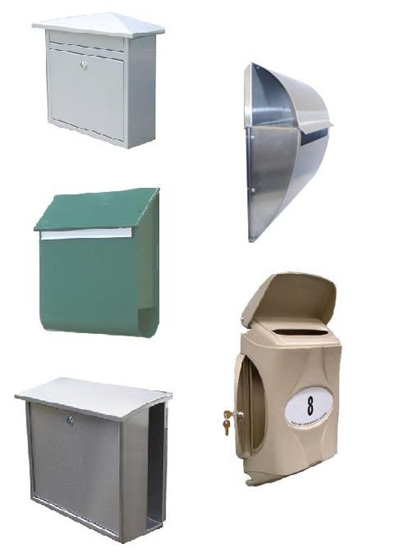 Fence or Wall Mounted Letterboxes