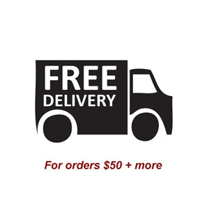 Free delivery on orders $50 and more