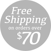 Free shipping on orders over $70