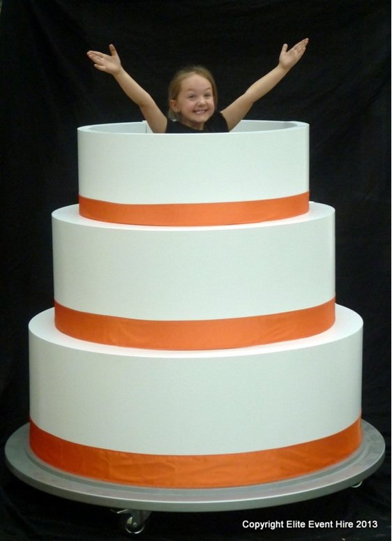 How Can I Jump Out Of A Giant Birthday Cake