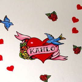 Heart Door Tatt wall decal
