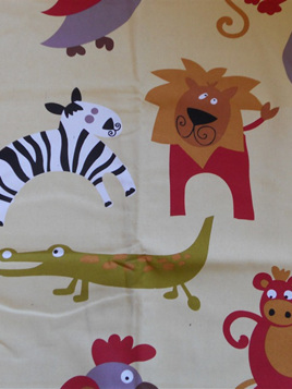 Jungle Animal Cot Duvet Cover