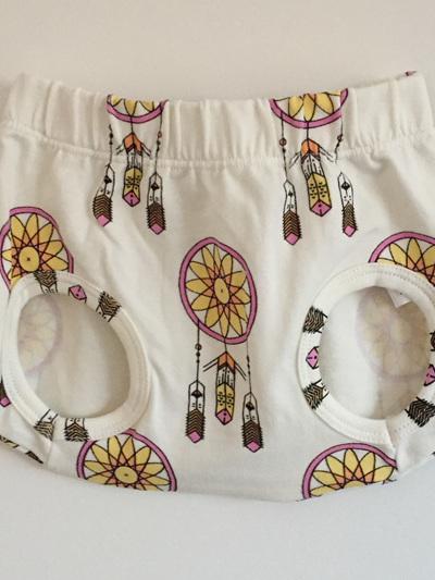 King Raja Organics - Nappy Pants Aztec Dreams Pink