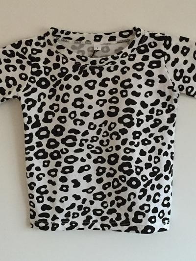 King Raja Organics - T Shirt Snow Leopard