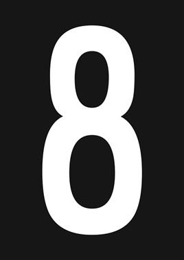 KIWI NUMBER 8