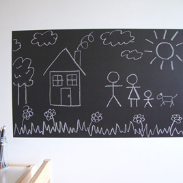 Large chalkboard wall decal