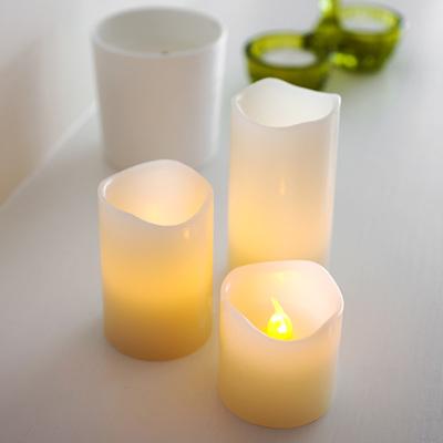 LED Candles - 3 Pieces Set