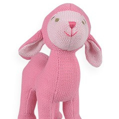 Knitted Sheep toy - lily & george
