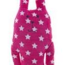 Lily & George pink rabbit cushion pet