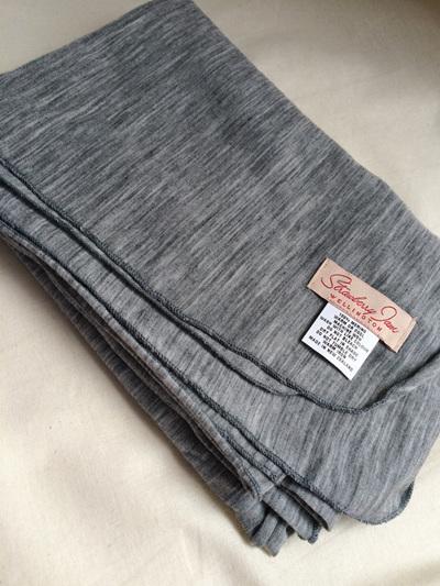 Merino Wrap - Grey