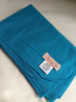 Merino Wrap - Jewel Blue