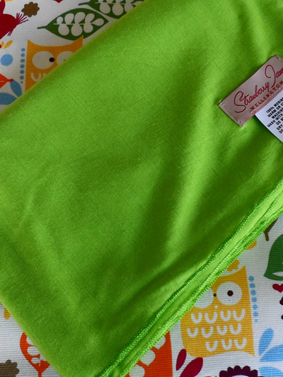 Merino Wrap - Lime Soda