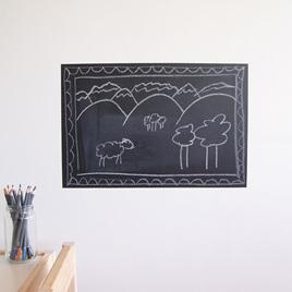 Chalkboard wall decal  Mini Mural