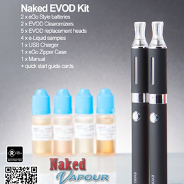 Naked EVOD 2 Clearomizer Kit