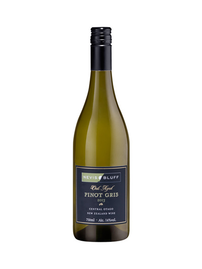 Nevis Bluff Oak Aged Pinot Gris 2013