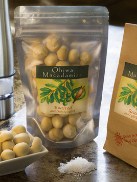 Roasted & Salted Macadamia Nuts - 200g
