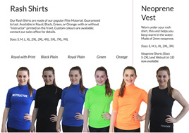 Rash Shirts and Vests