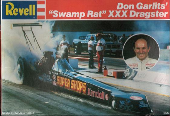 Revell 1 25 Don Garlits Swamp Rat Xxx Dragster Rick S