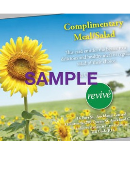 Revive Gift Certificate