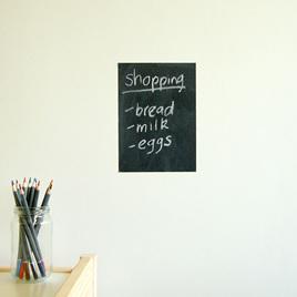Small chalkboard wall decal