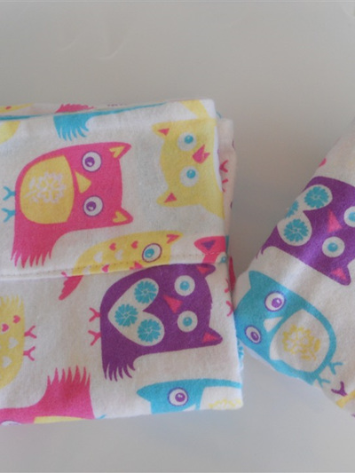 Snuggly Owl Moses Basket Sheet Set