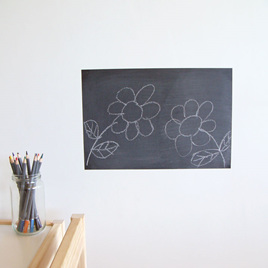 Chalkboard wall decal  StickyTiny